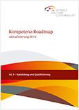 """Cover mit dem Titel """"Kompetenz-Roadmap - Aktualisierungen 2015"""""""