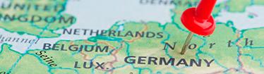 Foto: Landkarte Deutschland